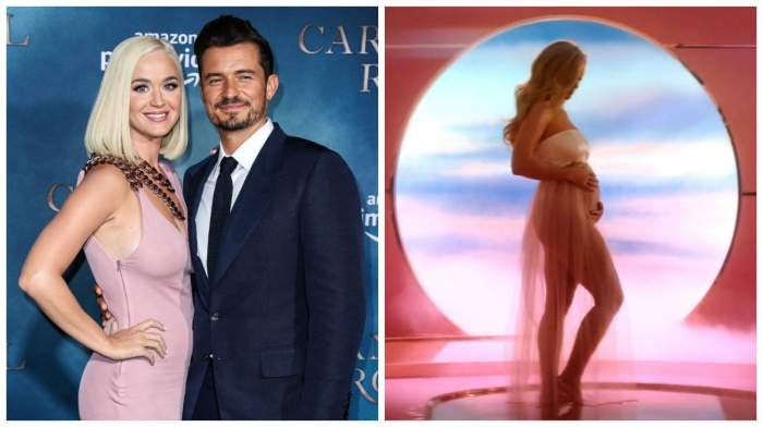 Katy Perry este însărcinată. Vedeta a anunțat că ea și Orlando Bloom vor deveni părinți