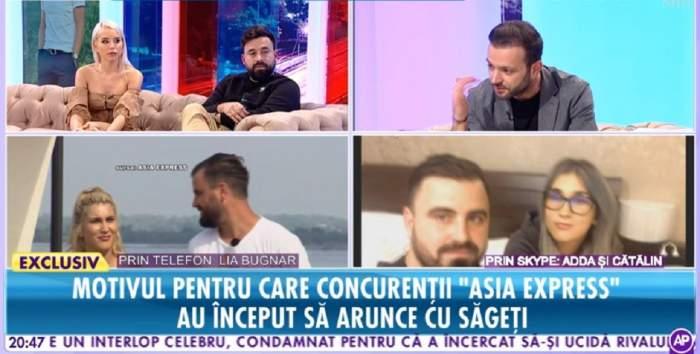 """VIDEO / Adda şi Carmen Grebenişan, faţă în faţă. Ce şi-au spus acestea, după ce cântăreaţa a fost extrem de supărată pe decizia blondinei, la """"Asia Express"""""""