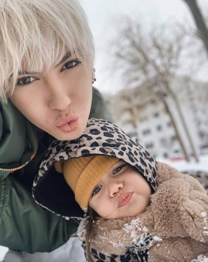 """Sore, primul videoclip împreună cu fetiţa ei: """"Aproape că am leşinat"""" / VIDEO"""
