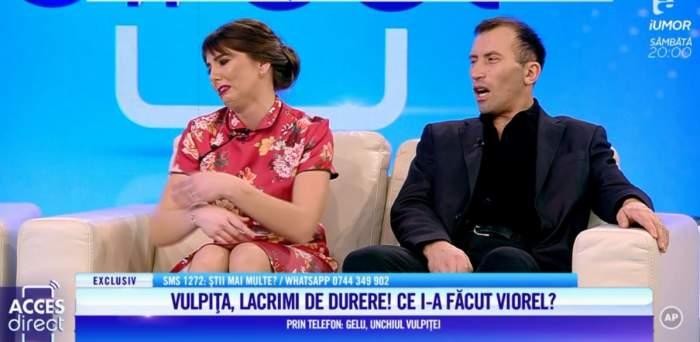 """VIDEO / Viorel a găsit un bileţel suspect în hainele Vulpiţei! Veronica a izbucnit în lacrimi, în direct: """"Tu nu ai văzut ce scrie acolo?"""""""