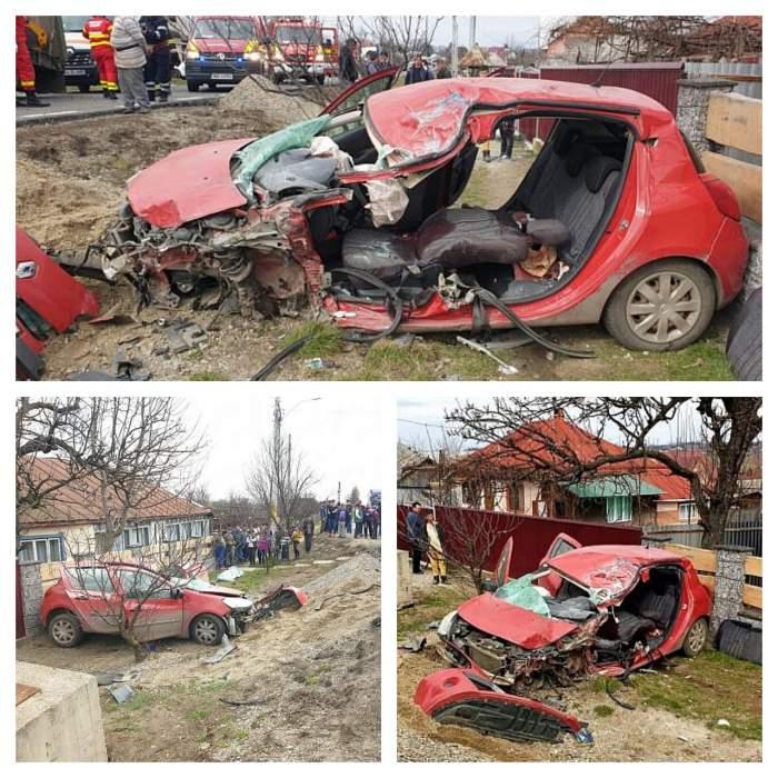 Accident cumplit în Suceava. Un bărbat a murit şi o tânără de 18 ani se află în stare gravă