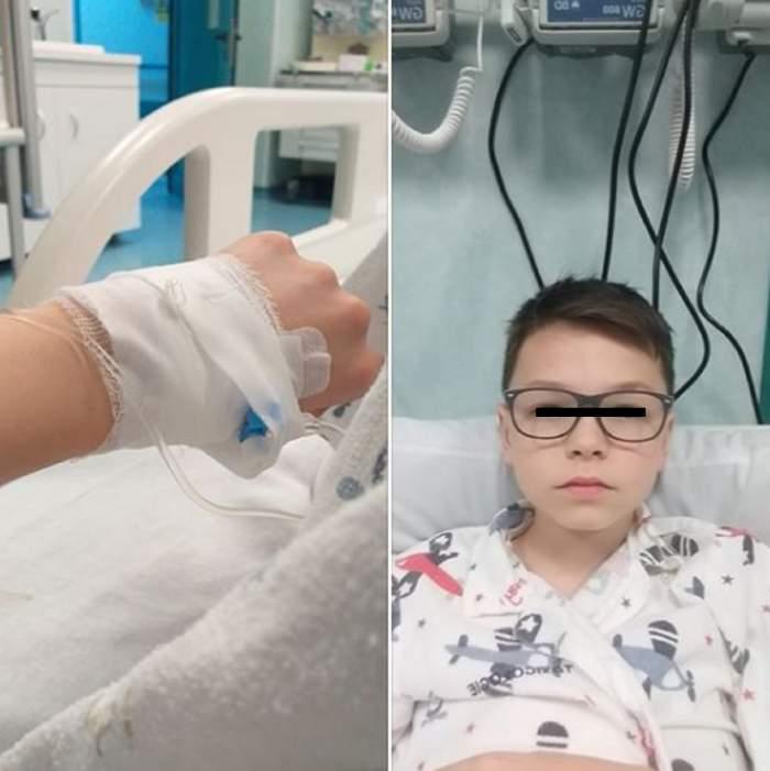 Bucureşti. Elev internat în spital, după ce un coleg l-a otrăvit cu dezinfectant turnat în sticla cu apă