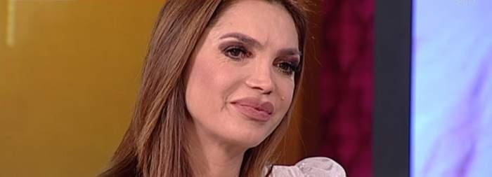 """Cristina Spătar, în lacrimi la TV: """"Mama mea nu mai este printre noi"""" / VIDEO"""