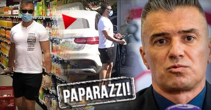 PAPARAZZI / Daniel Pancu, pus în dificultate de pandemie! Echipat de luptă cu virusul, greul Rapidului s-a conformat până la capăt