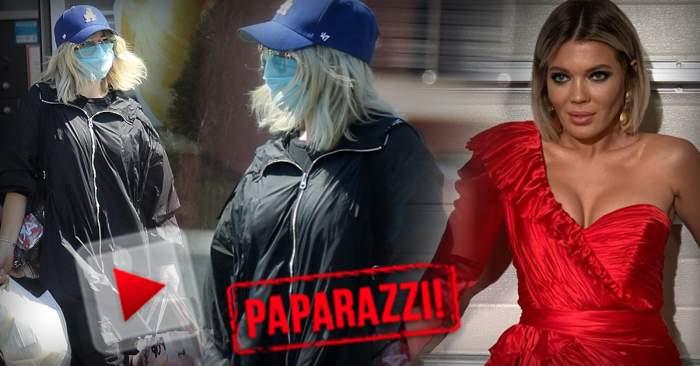 """PAPARAZZI / Ginuța, nu-i deloc simpatic coronavirusul! Blondina a dat rochiile sexy pe """"armura"""" de pandemie și e de nerecunoscut"""