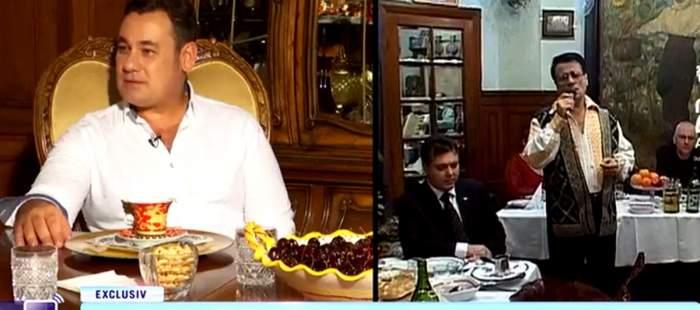 """Acces Direct. Imagini de colecție din casa lui Ion Dolănescu. Fiul său, Ionuț, a prezentat fiecare colț al vilei de zeci de mii de euro. """"I-a aparținut lui Barbu Delavrancea"""""""