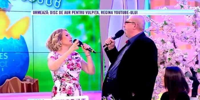 VIDEO / Mirela Vaida și Sorin Ovidiu Bălan, în duet la Acces Direct