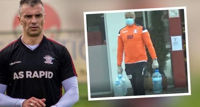 VIDEO PAPARAZZI / Daniel Pancu nu se neglijează pe timp de pandemie! Fostul fotbalist face sport, însă nu oricum, ci cu.. baxurile de apă! Cum a fost surprins