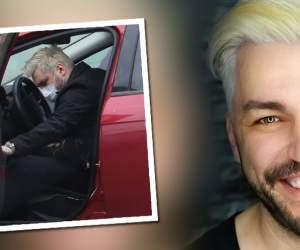 """VIDEO PAPARAZZI / De frica pandemiei, Doru Todoruț a dat """"bir cu fugiții"""" și a plecat din București! A făcut o manevră riscantă în trafic, ce l-ar fi costat mult!"""