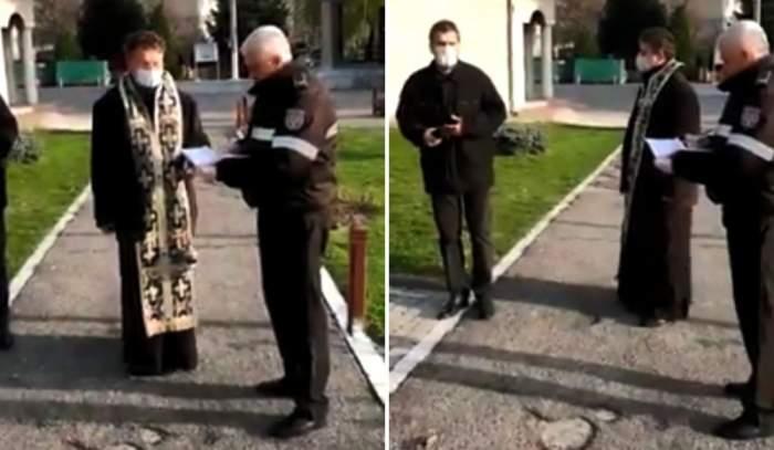 Amendă de 20.000 de lei pentru un preot din Râmnicu Vâlcea! A lăsat mai mulți bătrâni în interiorul bisericii