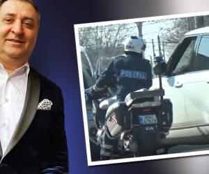 PAPARAZZI / Vali Vijelie, întâlnire de gradul zero la volan! Poliția i-a bătut în geam și l-a oprit în trafic