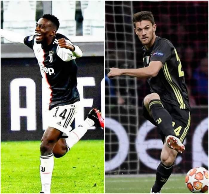 Mautidi și Rugani, jucătorii de la Juventus Torino, testați din nou pozitiv cu noul coronavirus