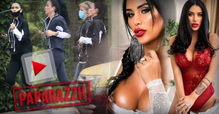 VIDEO PAPARAZZI / Un trup ca al Danielei Crudu nu se menține așa ușor! Cum a fost surprinsă focoasa brunetă, alături de mama sa