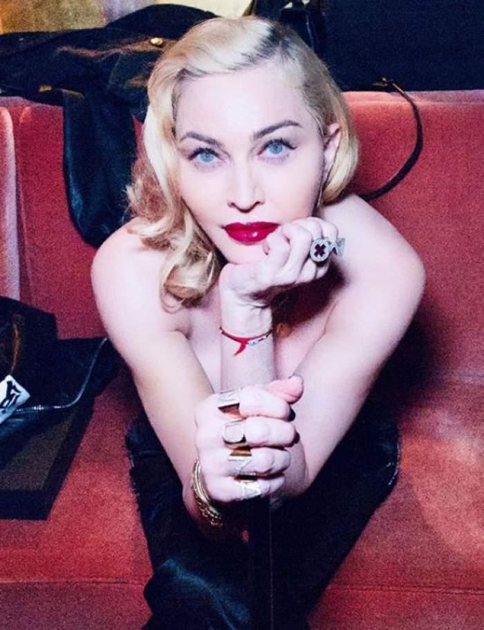 FOTO / Madonna, lipsită de înhibiții, la 61 de ani! Vedeta le-a arătat fanilor tot ce vede iubitul ei în dormitor