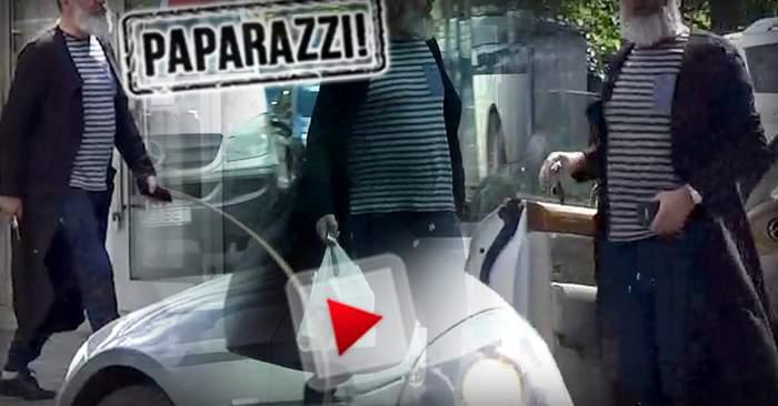 PAPARAZZI / Milionar celebru, surprins într-o ipostază jenantă, în public / Cum a fost filmat afaceristul!