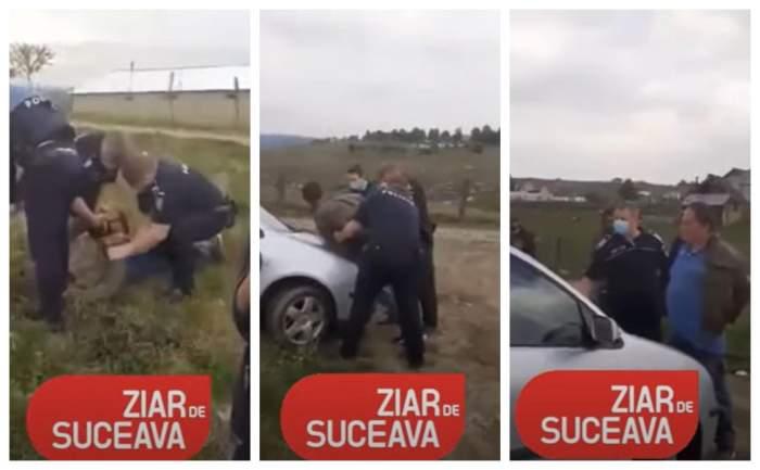 VIDEO / Scandal cu pistoale într-o comunitate de romi din Suceava! Un comerciant italian a încercat să-și recupereze datoria cu forța