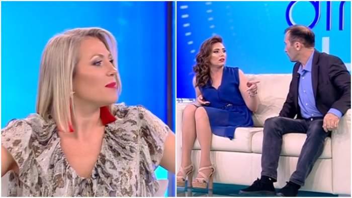 Mirela Vaida l-a dat pe Viorel afară din emisiune! A vrut să o lovească pe Vulpița, în direct / VIDEO