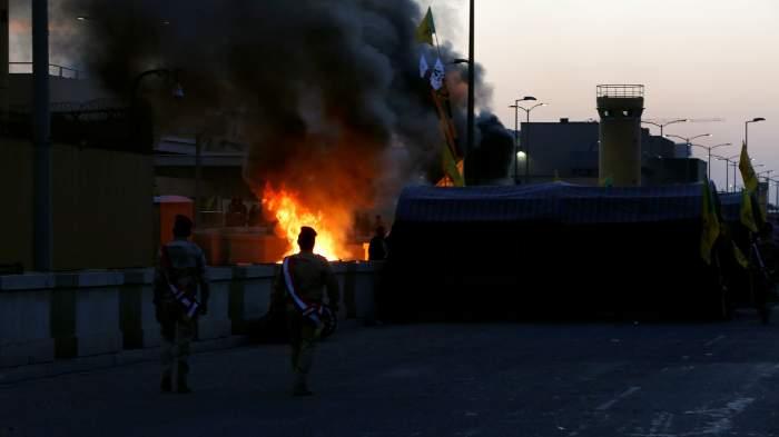 Atac cu rachetă al Ambasadei SUA la Bagdad, în noaptea de luni spre marți