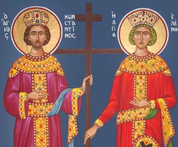 Ce trebuie să dai de pomană astăzi, de Sfinții Constantin și Elena