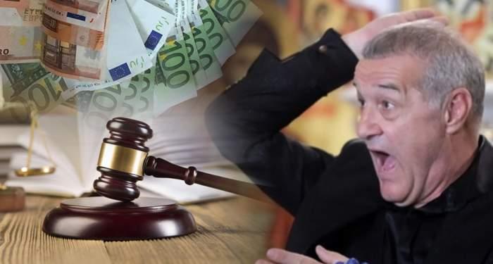 Gigi Becali, la tribunal, pentru 1.700 de euro / Cine i-a pus gând rău milionarului!