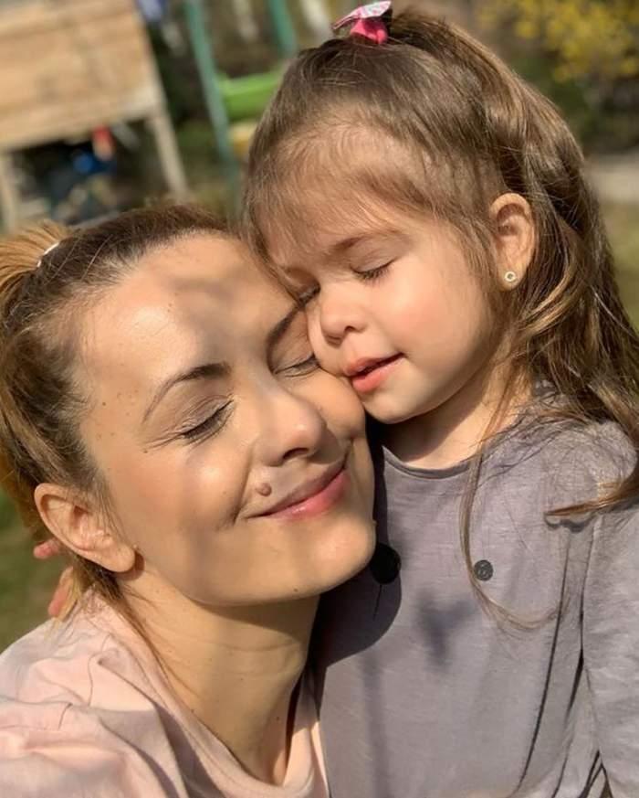 Fetița Simonei Gherghe a împlinit trei ani! Mesajul emoționant al vedetei