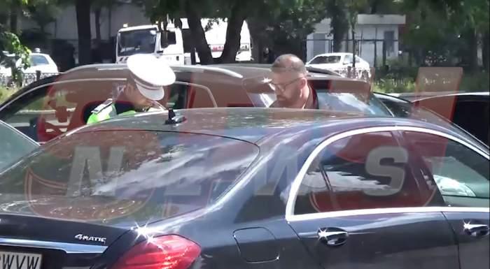 Un ghinion după altul pentru Clejani! După ce Margherita a făcut accident, Ioniță a fost oprit și el de Poliție / VIDEO