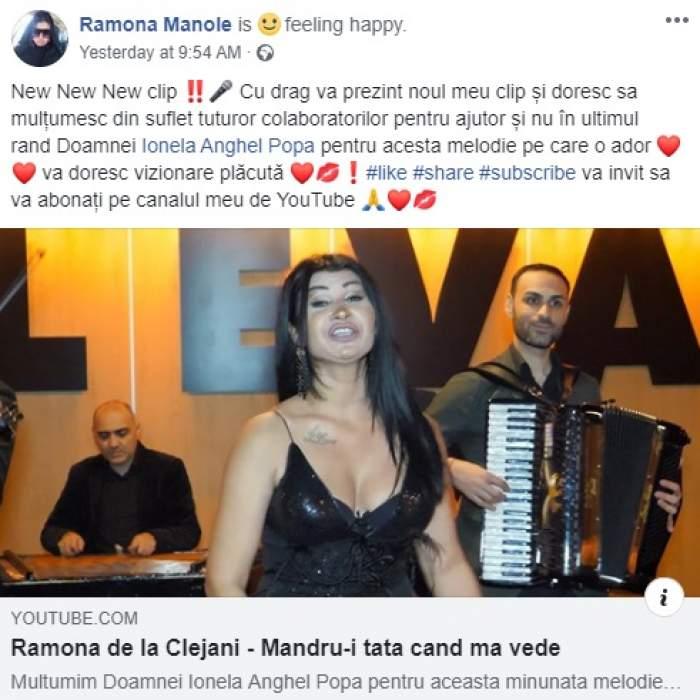 """Ramona, fiica nelegitimă a lui Ioniță de la Clejani, mesaj în timp ce Margherita e cercetată de Poliție: """"Mândru-i tata când mă vede"""""""