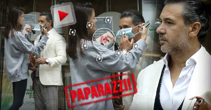 """PAPARAZZI / Mare milionar, mic în fața pandemiei! Adrian Ispravnic nu știe să-și pună singur masca, așa că îl ajută """"iubi"""""""