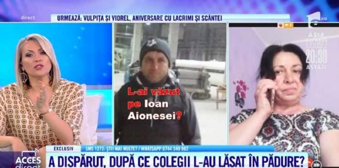 """Acces Direct. Declarațiile patronului șantierului la care a lucrat Ioan, bărbatul dispărut de două săptămâni într-o pădure din Târgu Mureș! """"L-am trimis..."""" / VIDEO"""