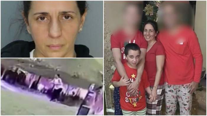 Mamă fără inimă, filmată în timp ce își împinge fiul autist într-un lac. După ce a murit, a spus că a fost răpit
