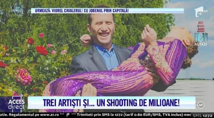 Vulpița, Viorel și Rafaelo, ședință foto de milioane! Cum s-au fotografiat cei trei înainte de lansarea piesei / VIDEO