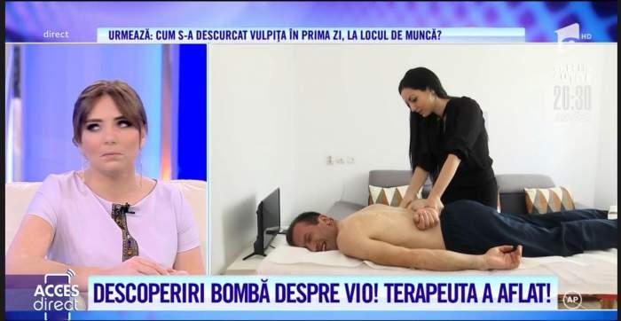 Soțul Vulpiței, mai răsfățat ca niciodată! Viorel Stegaru a ajuns pe masa de masaj / VIDEO