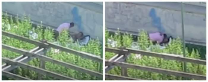 VIDEO / Distanțarea socială e un mit! Doi români, filmați în timp ce fac sex într-o grădină din Italia
