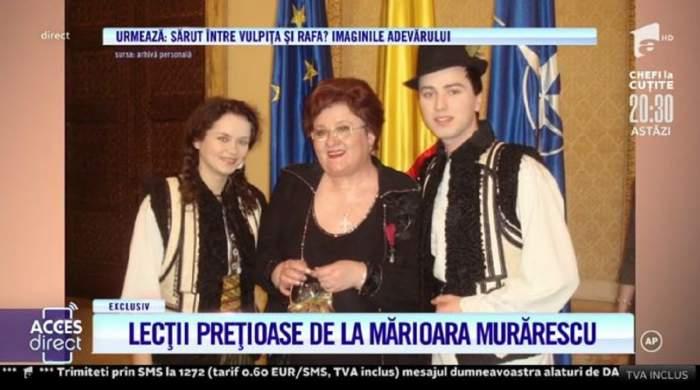 """Acces Direct. Angelica Flutur a dat cărțile pe față! Artista a recunoscut că a supărat-o pe Mărioara Murărescu. Care a fost motivul. """"Am plâns foarte mult"""" / VIDEO"""