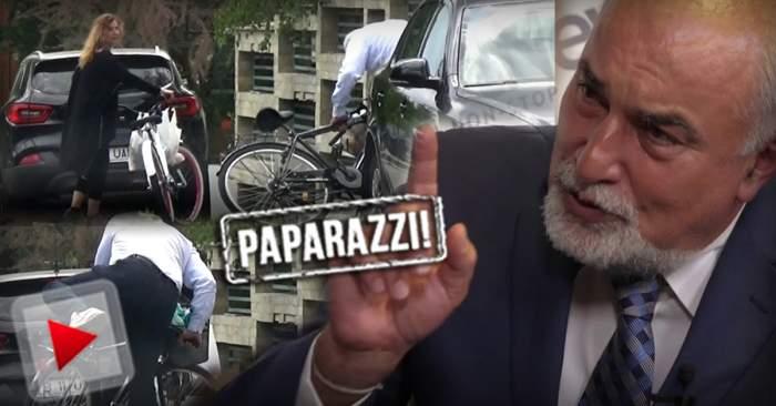 VIDEO PAPARAZZI / Politica și sportul pare că nu merg mână în mână. Varujan Vosganian, la un pas de accidentare, după câteva minute de mișcare