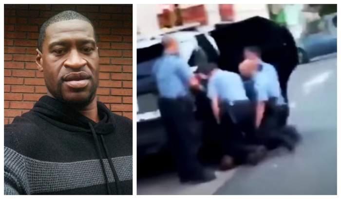 Răsturnare de situație în cazul lui George Floyd. O nouă înregistrare video arată că trei polițiști stăteau cu genunchii pe bărbat