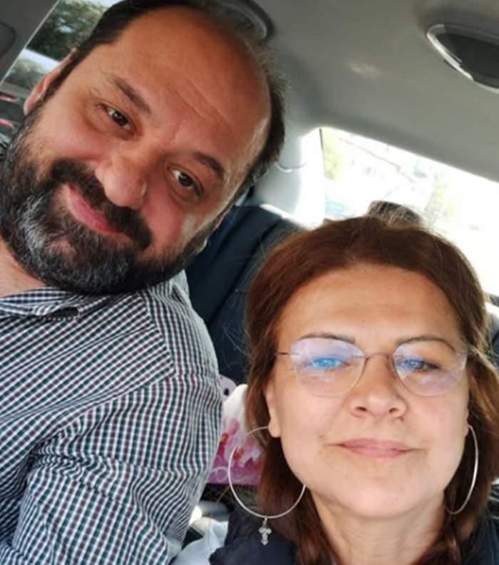 FOTO / Mereu la bine și la greu împreună. Cum a reușit Maria Buză să-l surprindă pe soțul său de ziua lui de naștere