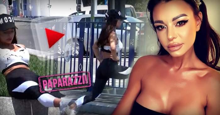 VIDEO PAPARAZZI / Să fie mereu frumoasă, sportul nu o ține-n casă! Cum a fost surprinsă Ana Mocanu în toiul zilei