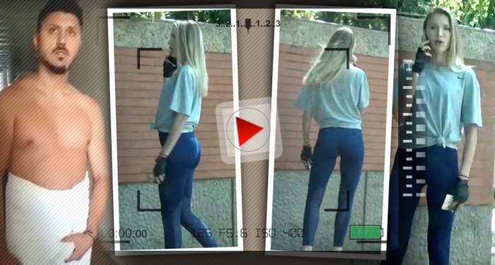 VIDEO PAPARAZZI / Poate fata! Ioana ne-a dat pe spate pe toți! Unde a mers iubita lui Ciprian Marica, în colanți și cu formele la vedere