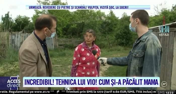 VIDEO / Vulpița și soțul ei au plecat la Blăgești, însă pentru o scurtă vizită! Cei doi au mers cu mașini separate. Cum a reacționat mama lui Viorel la vederea acestuia