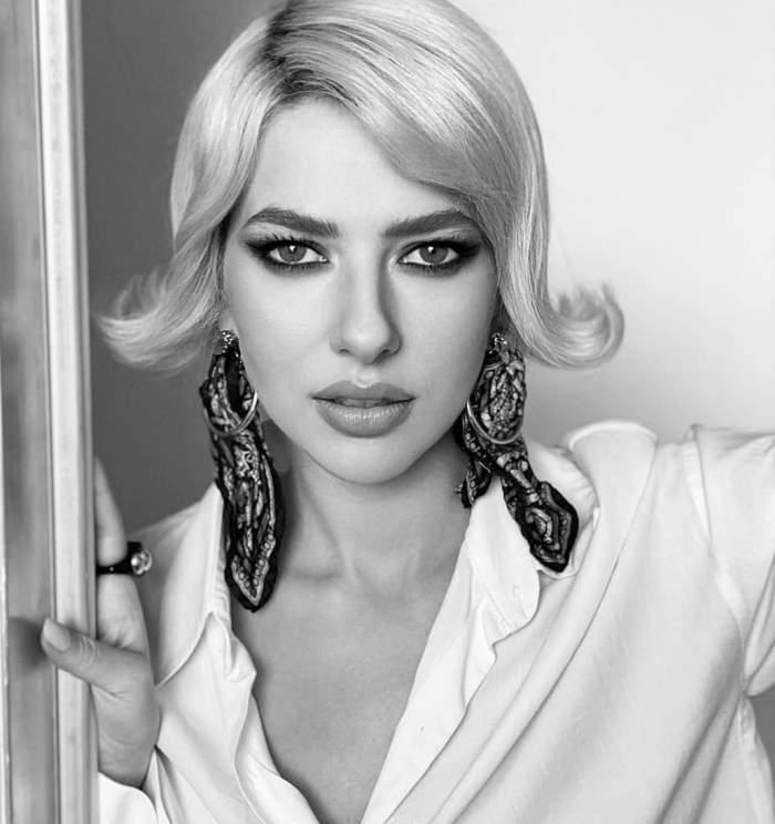 """VIDEO / Lidiei Buble îi """"priiește"""" despărțirea de Răzvan Simion! De ziua ei, vedeta a fost numai zâmbete și și-a unduit formele în fața fanilor"""