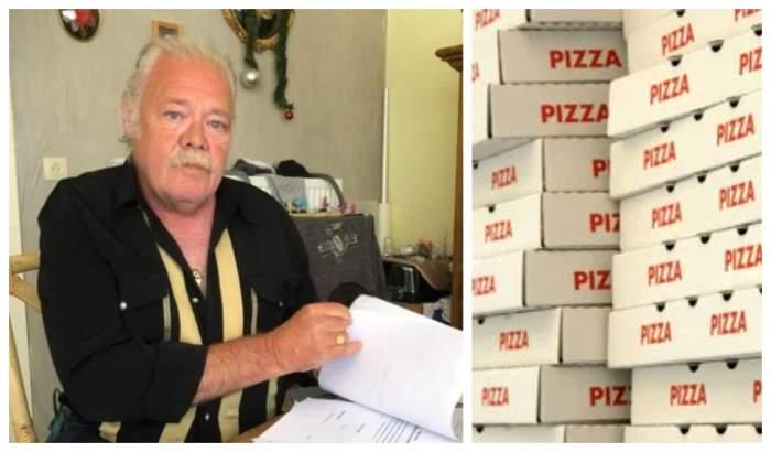 """Pensionar hărțuit cu pizza. Primește zilnic zeci de livrări! """"Nebunia a început în urmă cu nouă ani"""""""