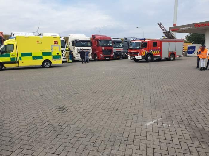 Scene cumplite într-o parcare din Belgia! Un șofer român de TIR, de 27 de ani, s-a sinucis în cabina camionului pe care lucra!
