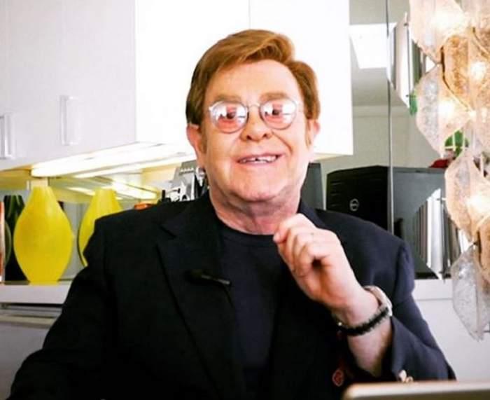 FOTO / Ea este femeia pe care Elton John a părăsit-o înainte de a ajunge în fața altarului! Motivul pentru care artistul s-a răzgândit în ultima clipă!
