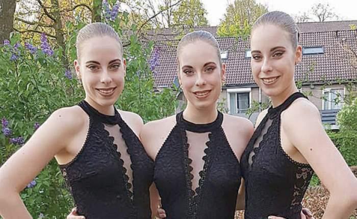 FOTO / Nu, nu vedeți triplu! Ele sunt surorileperfect.. identice! Doar numele le diferențiază