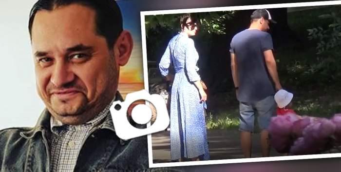 """VIDEO PAPARAZZI / Când nu e la filmări, se dedică familiei! """"Dorel"""" din """"Las Fierbinți"""" este un tătic model! Imagini emoționante cu actorul și fiul său, în parc"""