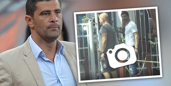 """VIDEO PAPARAZZI / Prietenul la nevoie se cunoaște, dar nu și-n cazul lui! Dani Coman, """"lăsat baltă"""" de amicul său într-o discuție importantă! Cum au fost surprinși cei doi"""