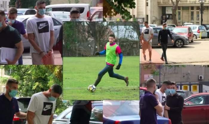 Fotbalistul Andu Moisi, 24 de ore în arest! Este acuzat de fosta iubită că a sechestrat-o