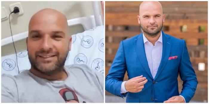 """Cum a reacționat Andrei Ștefănescu în momentul în care a aflat că are coronavirus! Declarații de pe patul de spital: """"Am trezit-o pe Antonia. A fost greu să plec de acasă"""""""