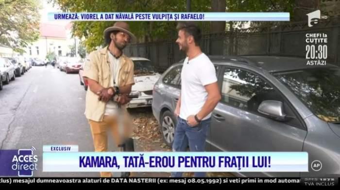 """VIDEO / Kamara, erou pentru frații lui! Artistul a fost încercat dur de viață: """"Am învățat să fiu un luptător"""""""